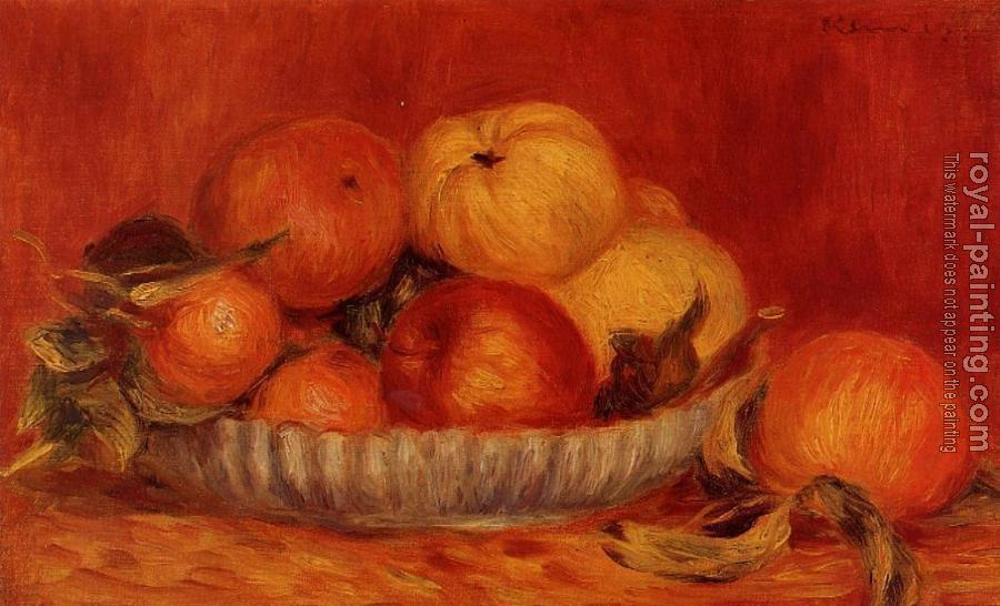 Pierre Auguste Renoir : Still Life with Apples and Oranges