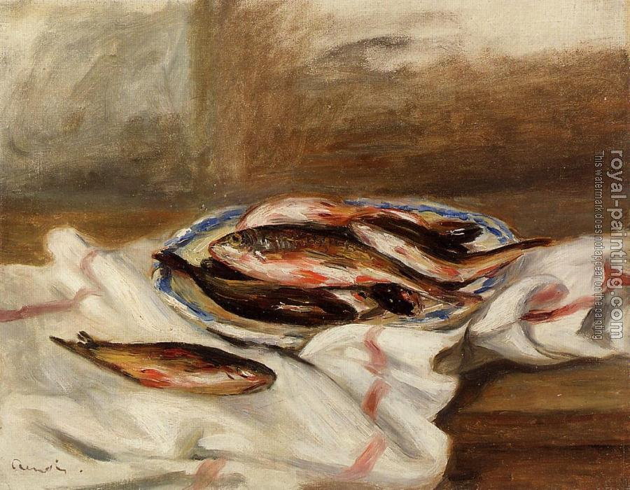 Pierre Auguste Renoir : Still Life with Fish