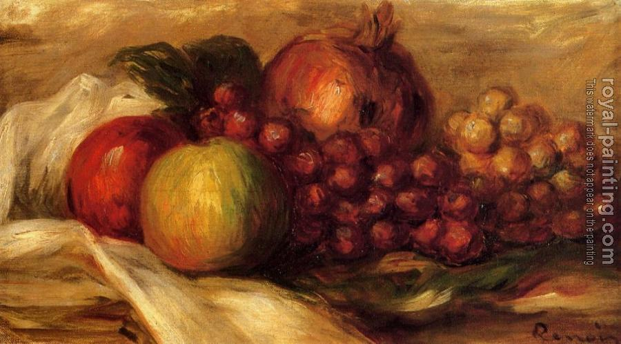 Pierre Auguste Renoir : Still Life with Fruit II