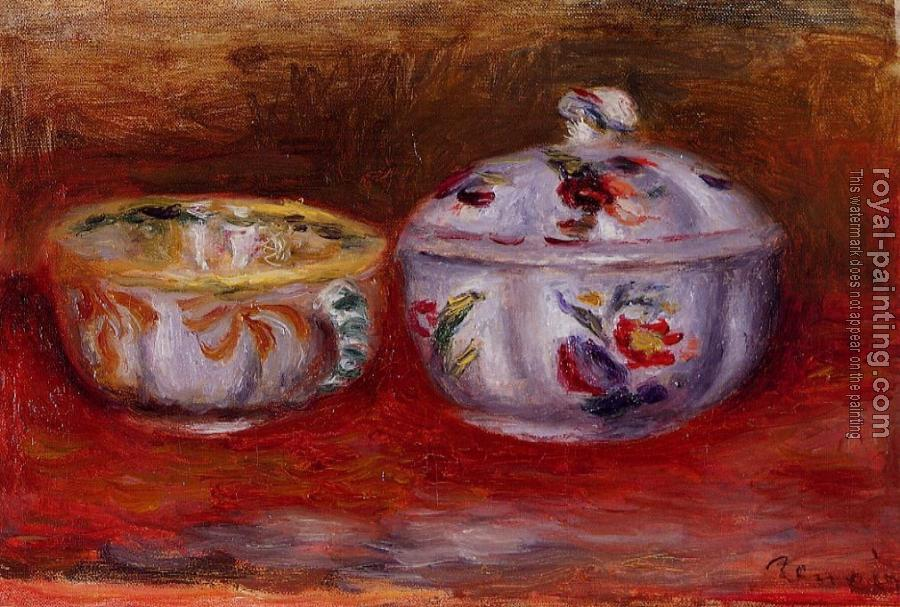 Pierre Auguste Renoir : Still Life with Fruit Bowl