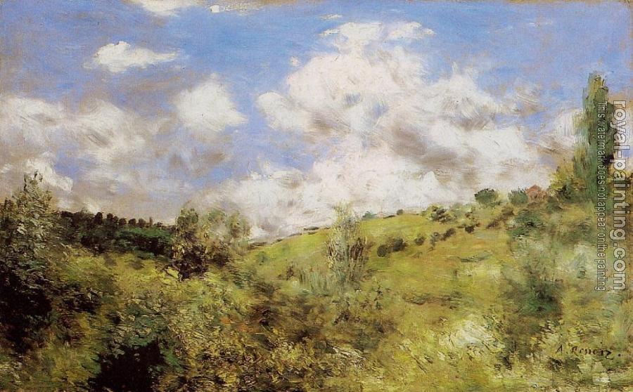Pierre Auguste Renoir : Strong Wind