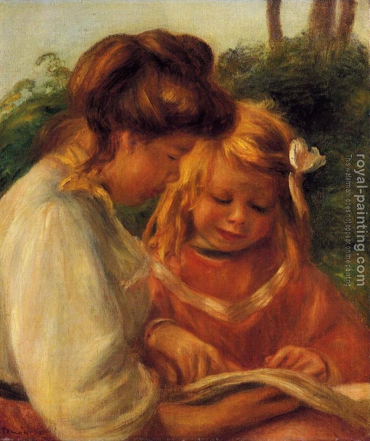 Pierre Auguste Renoir : The Alphabet, Jean and Gabrielle