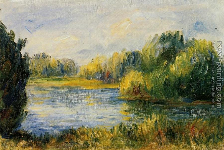 Pierre Auguste Renoir : The Banks of the River II