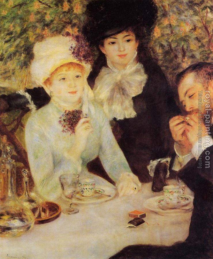 Pierre Auguste Renoir : The End of Lunch