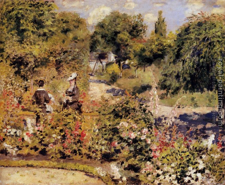 Pierre Auguste Renoir : The Garden at Fontenay