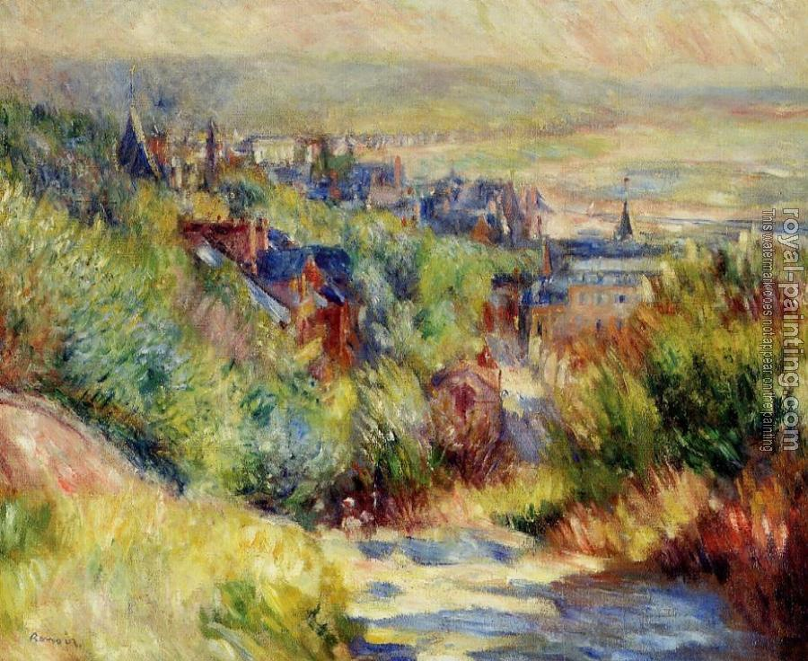 Pierre Auguste Renoir : The Hills of Trouville