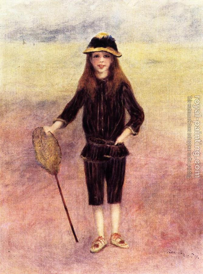 Pierre Auguste Renoir : The Little Fishergirl, Marthe Berard