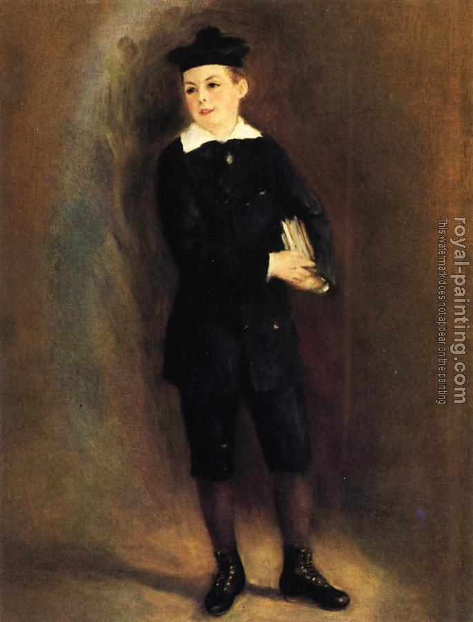 Pierre Auguste Renoir : The Little School Boy