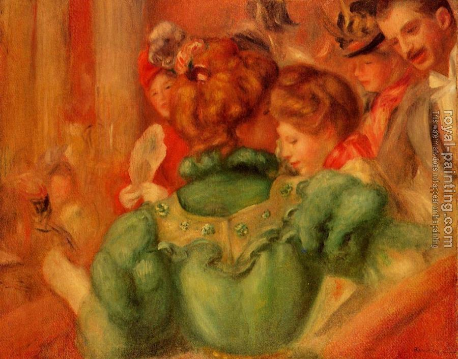 Pierre Auguste Renoir : The Loge