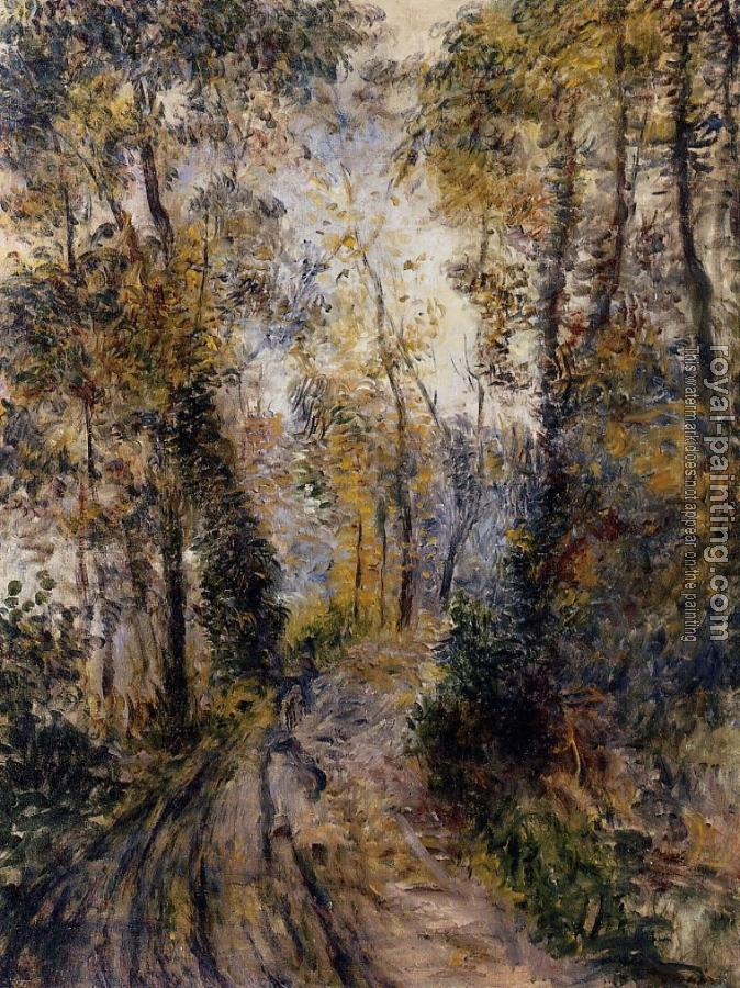 Pierre Auguste Renoir : The Path through the Forest