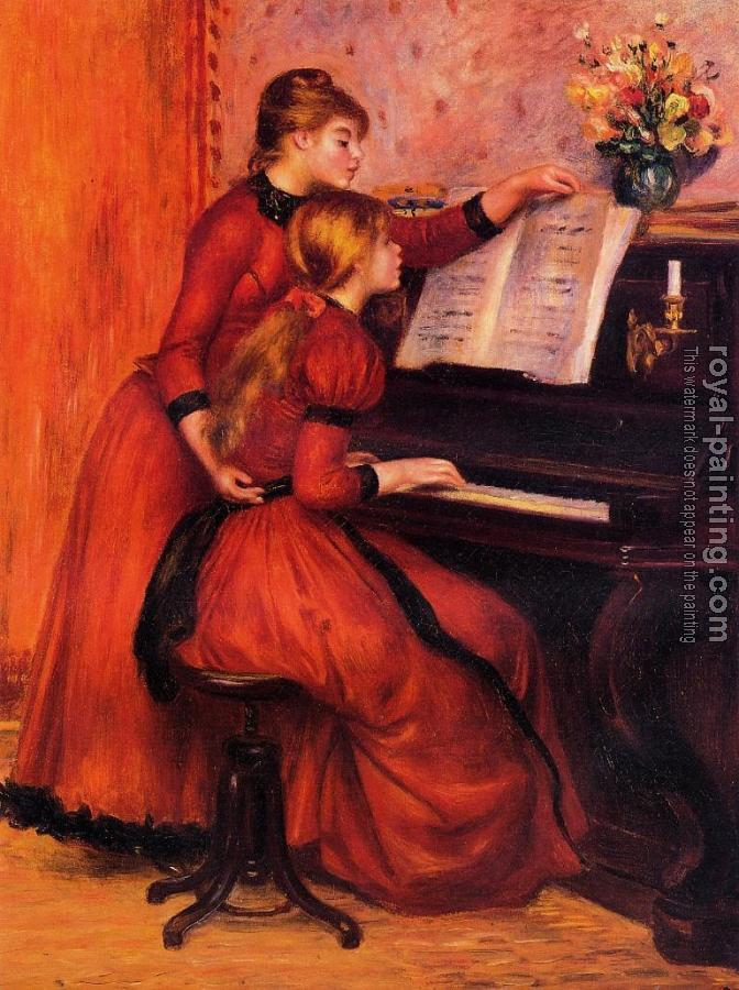 Pierre Auguste Renoir : The Piano Lesson
