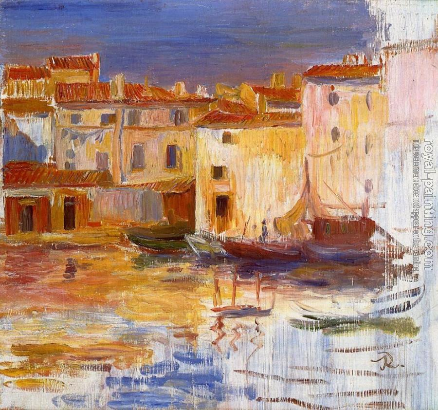 Pierre Auguste Renoir : The Port of Martigues