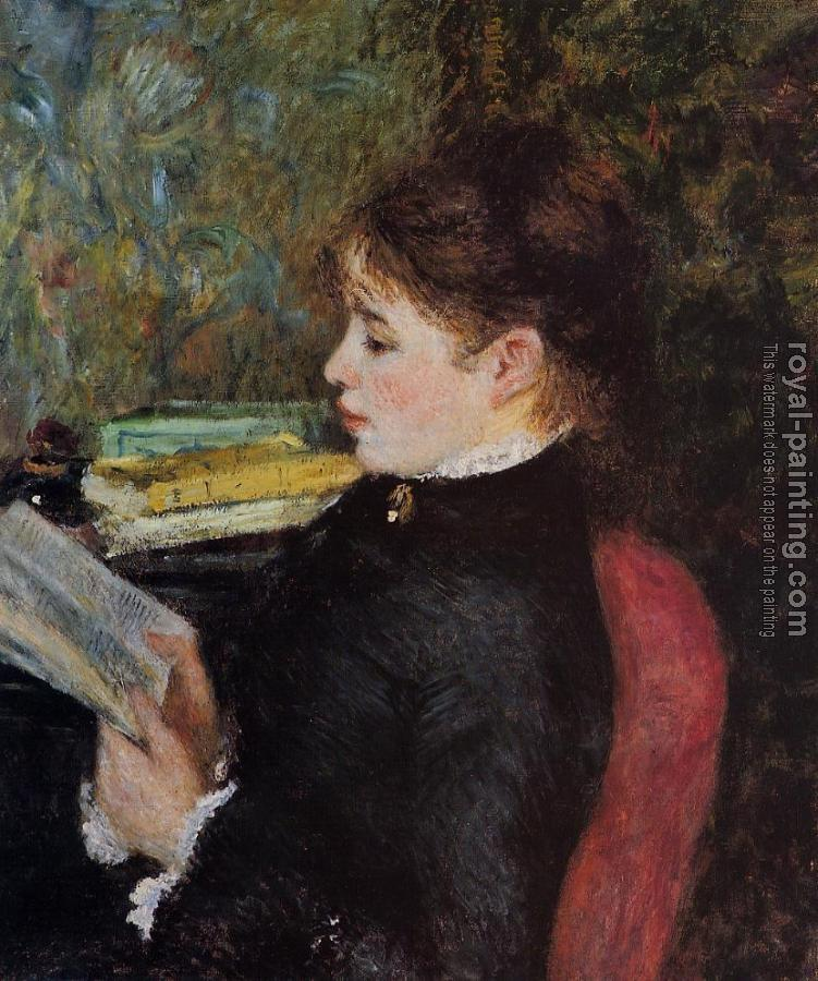 Pierre Auguste Renoir : The Reader II