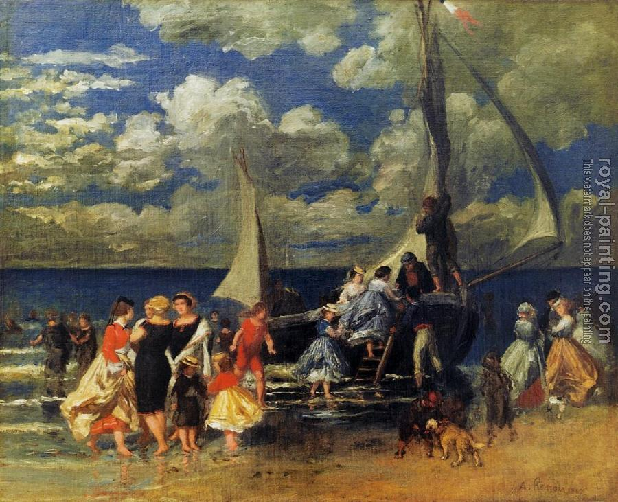 Pierre Auguste Renoir : The Return of the Boating Party