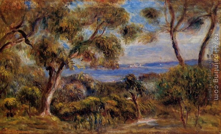Pierre Auguste Renoir : The Sea at Cagnes