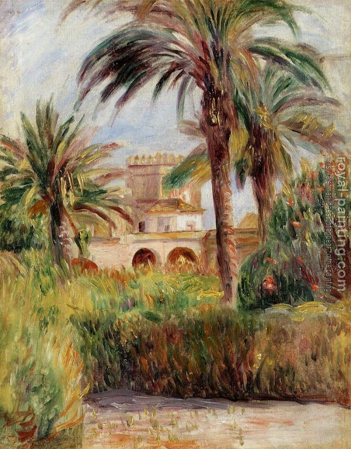 Pierre Auguste Renoir : The Test Garden in Algiers