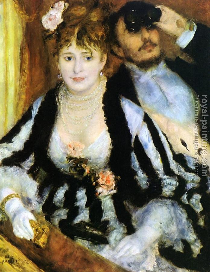 Pierre Auguste Renoir : The Theater Box