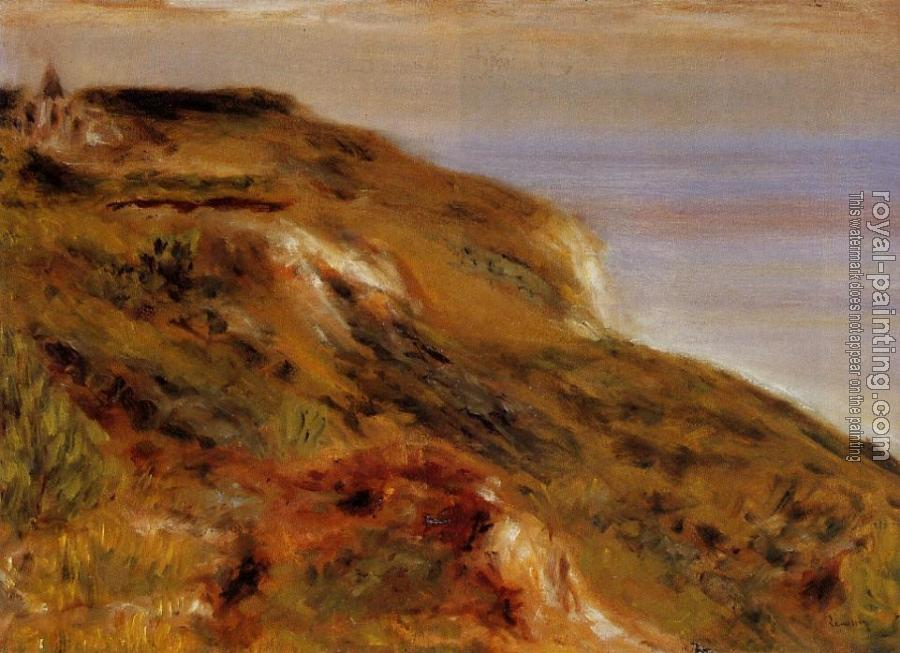 Pierre Auguste Renoir : The Varangeville Church and the Cliffs