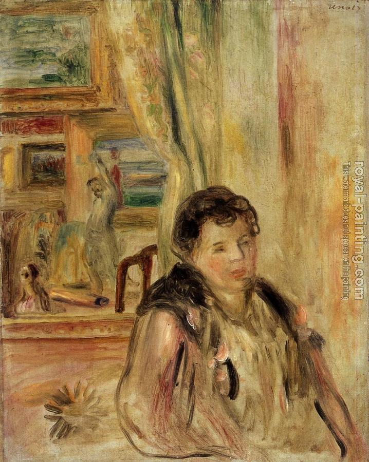 Pierre Auguste Renoir : Woman in an Interior