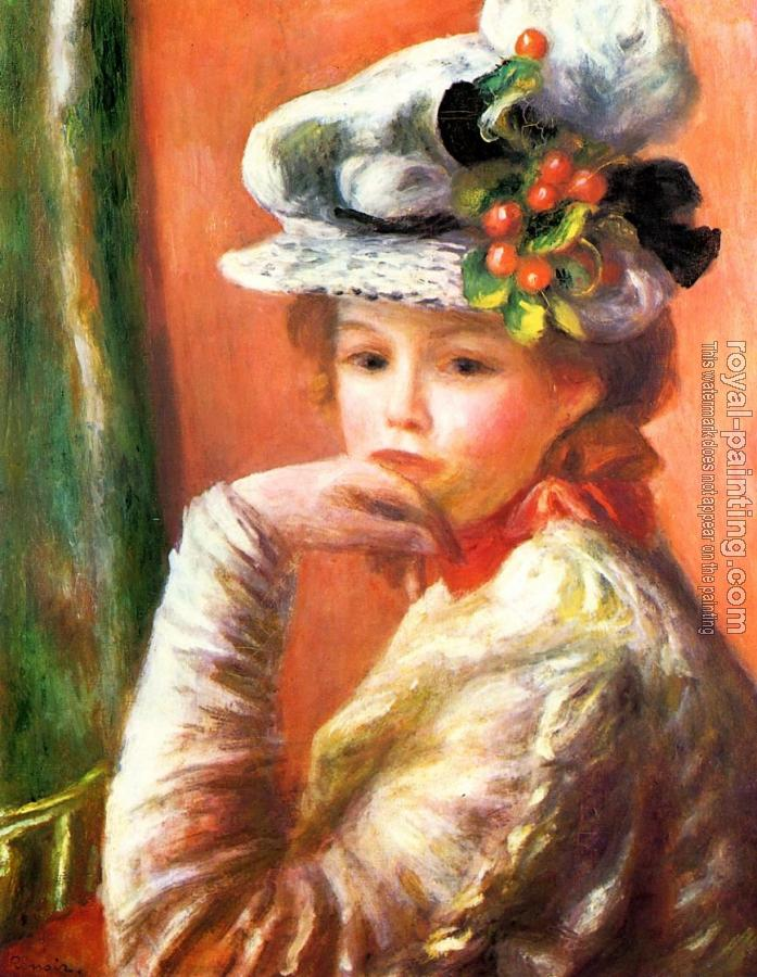 Pierre Auguste Renoir : Woman Leaning on Her Hand