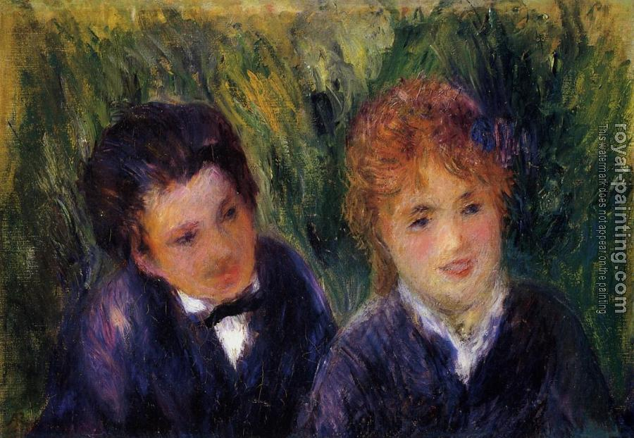 Pierre Auguste Renoir : Young Man and Young Woman