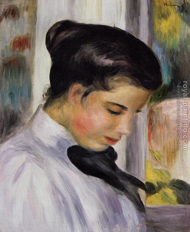 Pierre Auguste Renoir : Young Woman in Profile