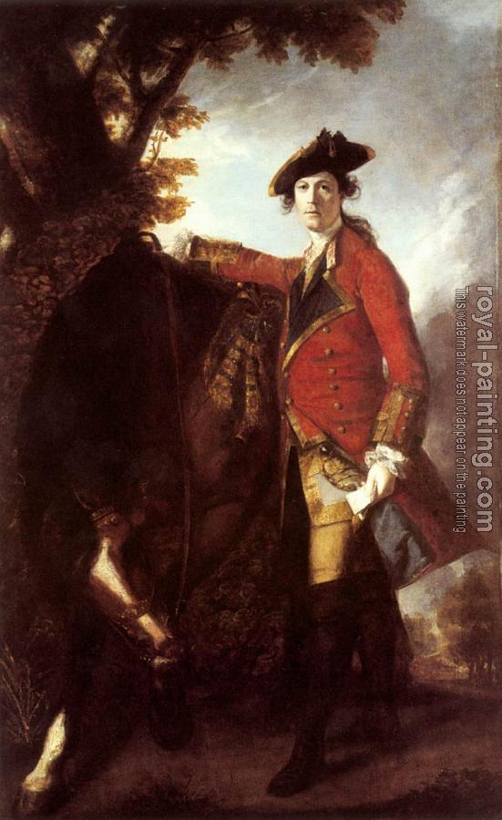Joshua Reynolds : Captain Robert Orme