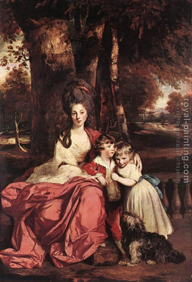 Lady Elizabeth Delme and Her Children