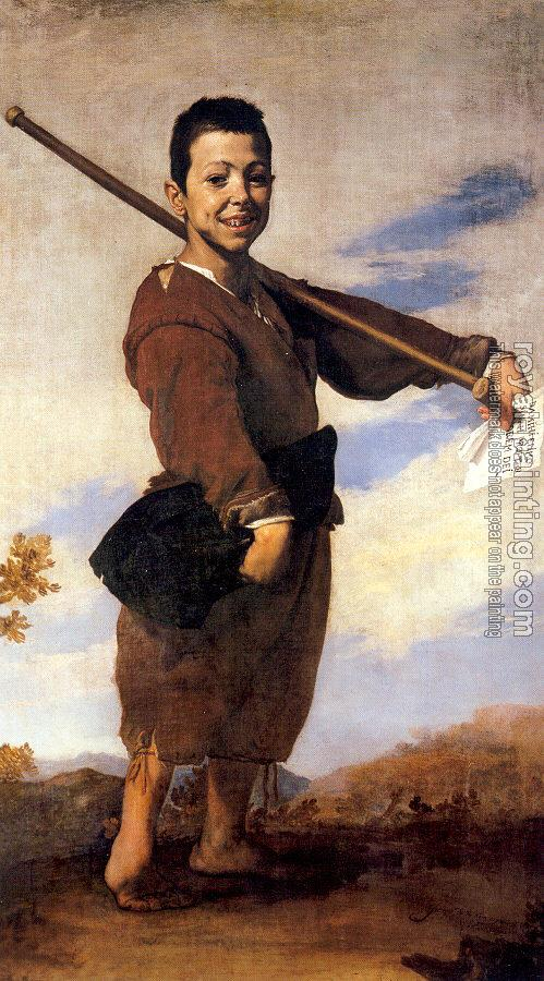 Jusepe De Ribera : The Boy with the Club Foot