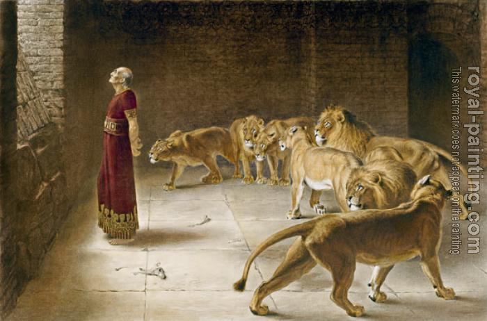 Briton Riviere : Daniel's Answer to the King