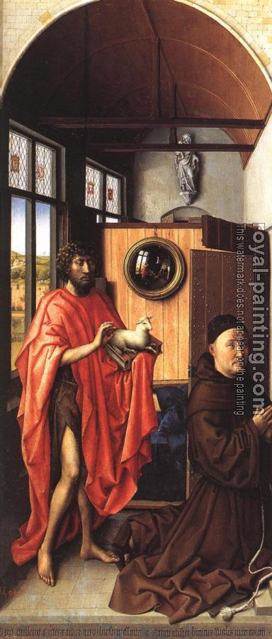 Robert Campin : The Werl Altarpiece, left wing