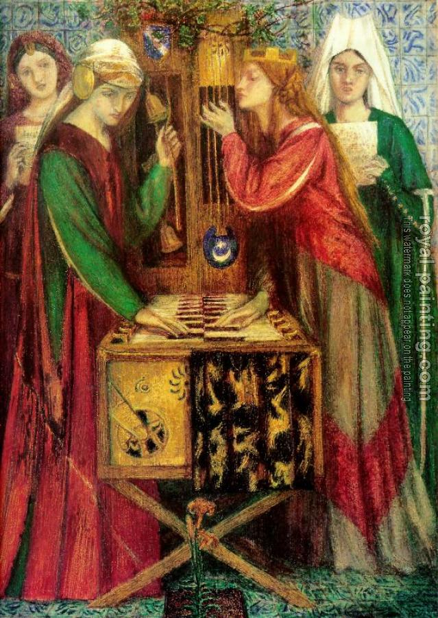 Dante Gabriel Rossetti : The Blue Closet