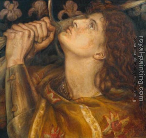 Dante Gabriel Rossetti : Joan of Arc
