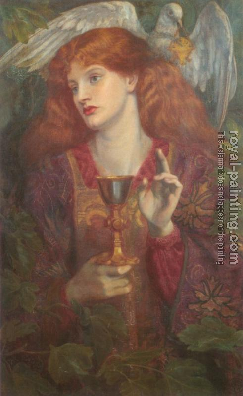 Dante Gabriel Rossetti : The Holy Grail
