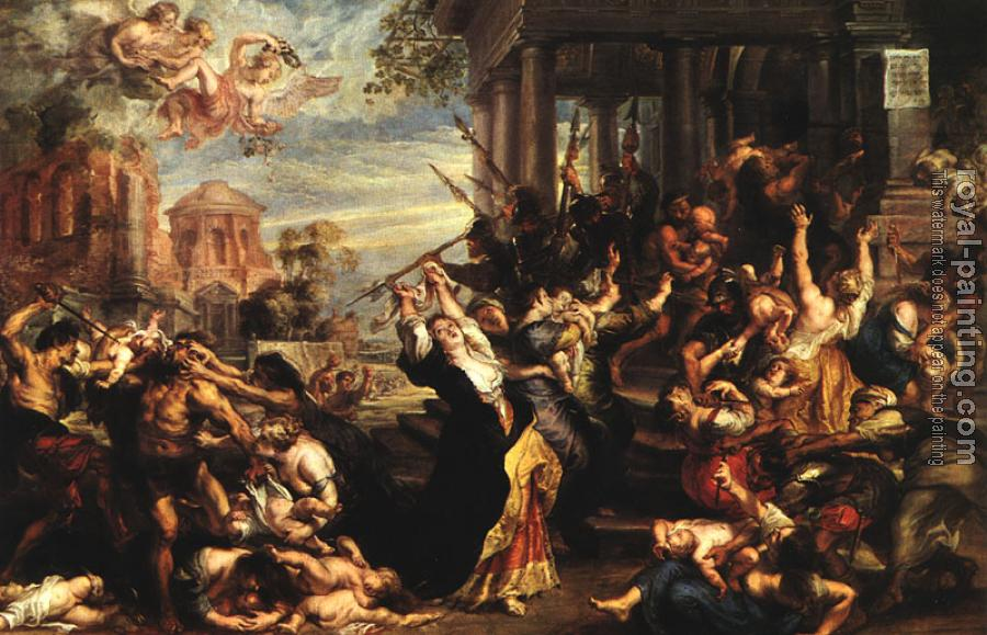 Peter Paul Rubens : Massacre of the Innocents