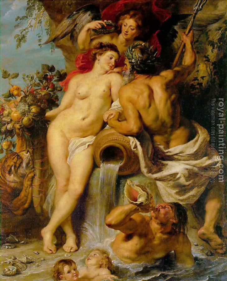 Peter Paul Rubens : The Union of Earth and Water