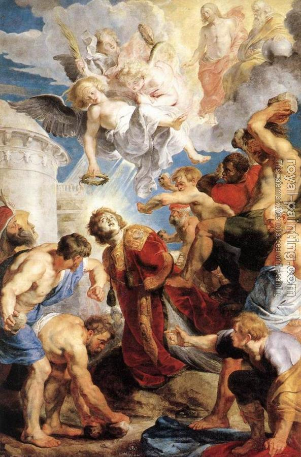 Peter Paul Rubens : The Martyrdom of St. Stephen