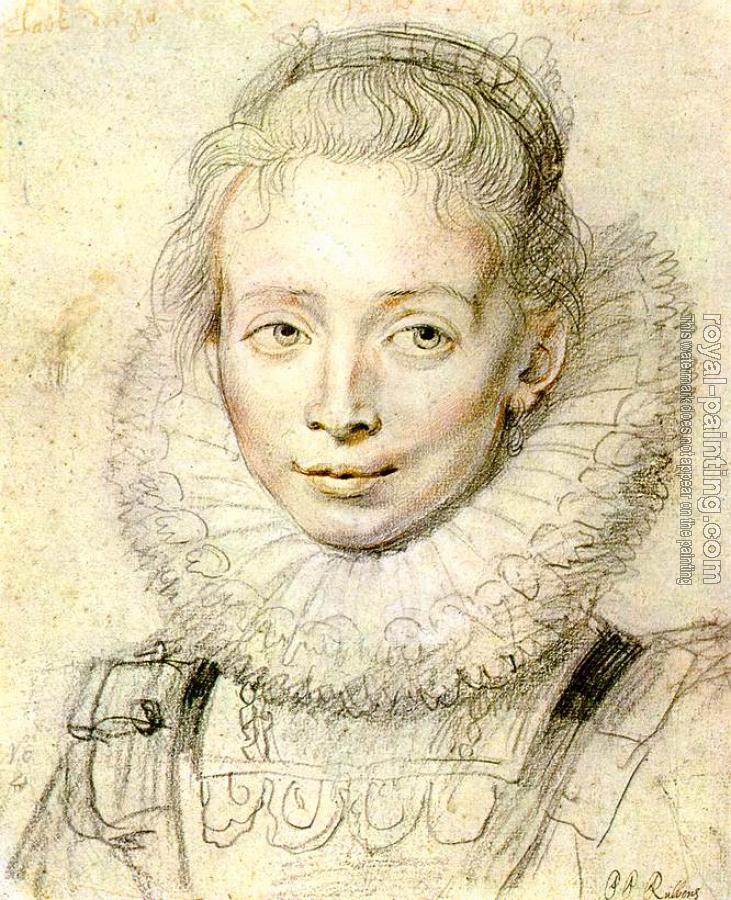 Peter Paul Rubens : Portrait of a Chambermaid