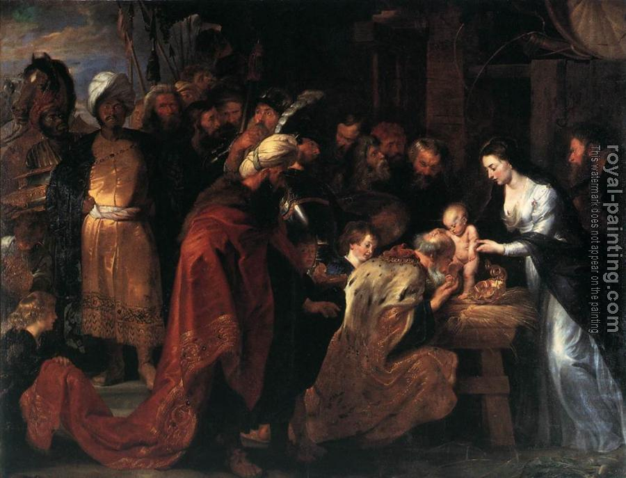 Peter Paul Rubens : Adoration of the Magi II