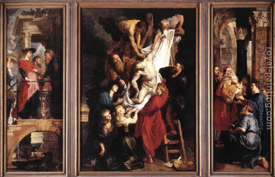 Peter Paul Rubens : Descent from the Cross II