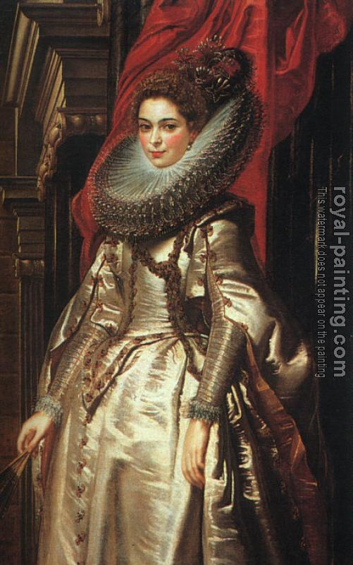 Peter Paul Rubens : Portrait of Marchesa Brigida Spinola Doria