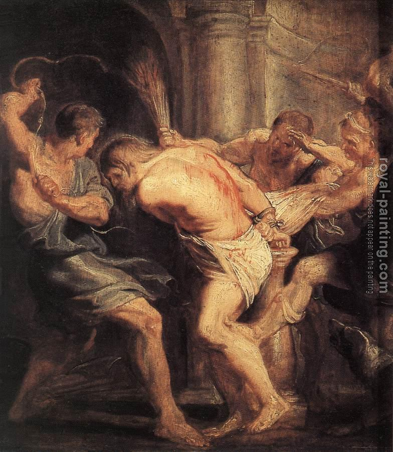 Peter Paul Rubens : The Flagellation of Christ
