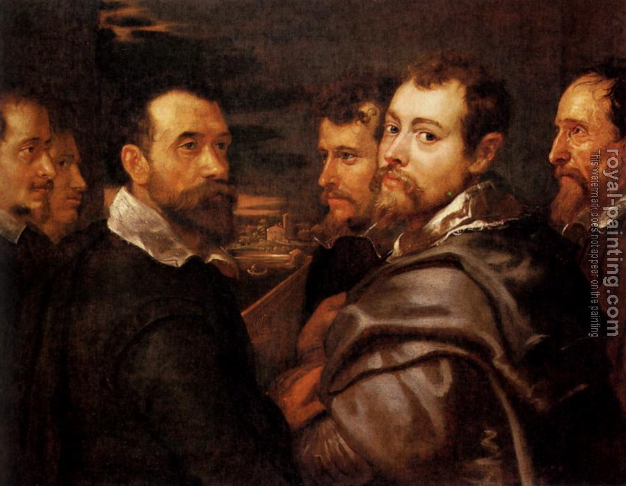 Peter Paul Rubens : The Mantuan Circle Of Friends