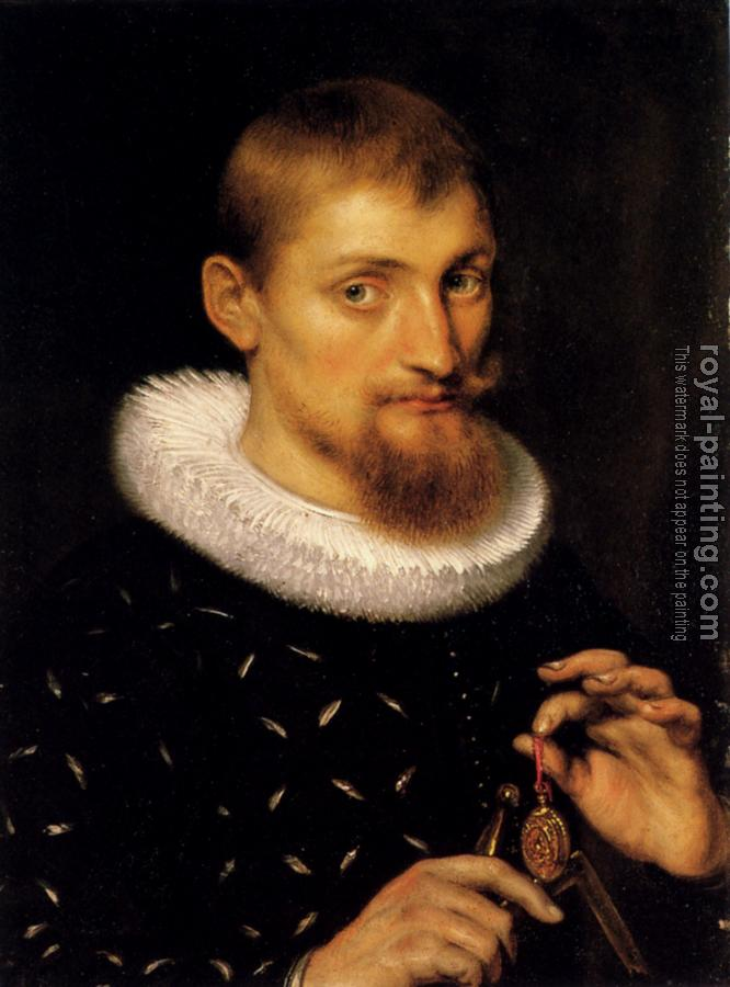 Peter Paul Rubens : Portrait Of A Man