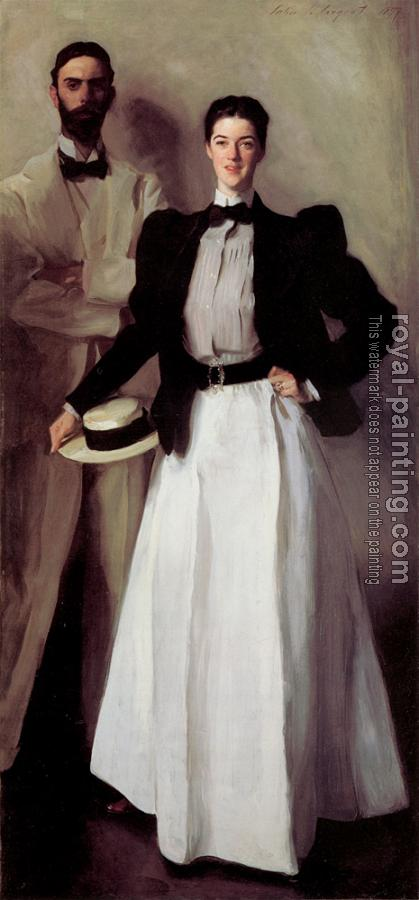John Singer Sargent : Mr. and Mrs. Isaac Newton Phelps Stokes