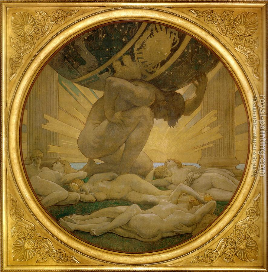 John Singer Sargent : Atlas and the Hesperides