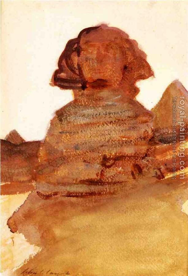 John Singer Sargent : The Sphinx