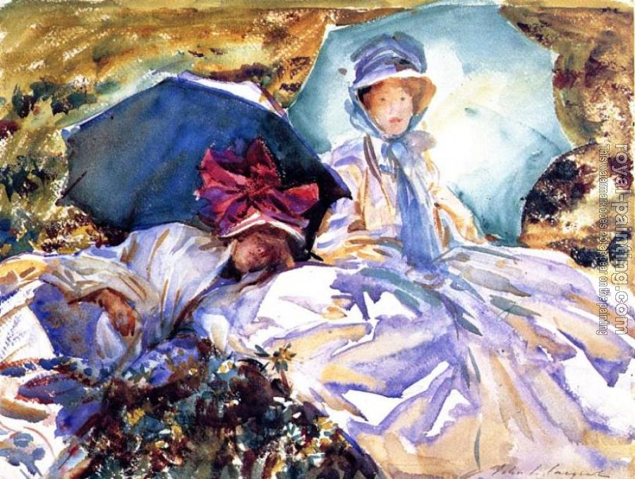 John Singer Sargent : The Green Parasol