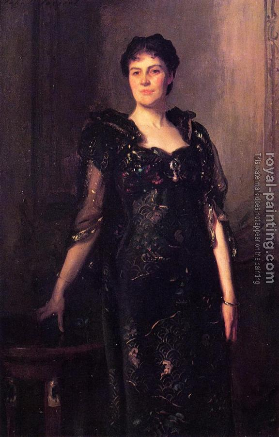John Singer Sargent : Mrs. Charles F. St. Clair Anstruther-Thompson, nee Agnes