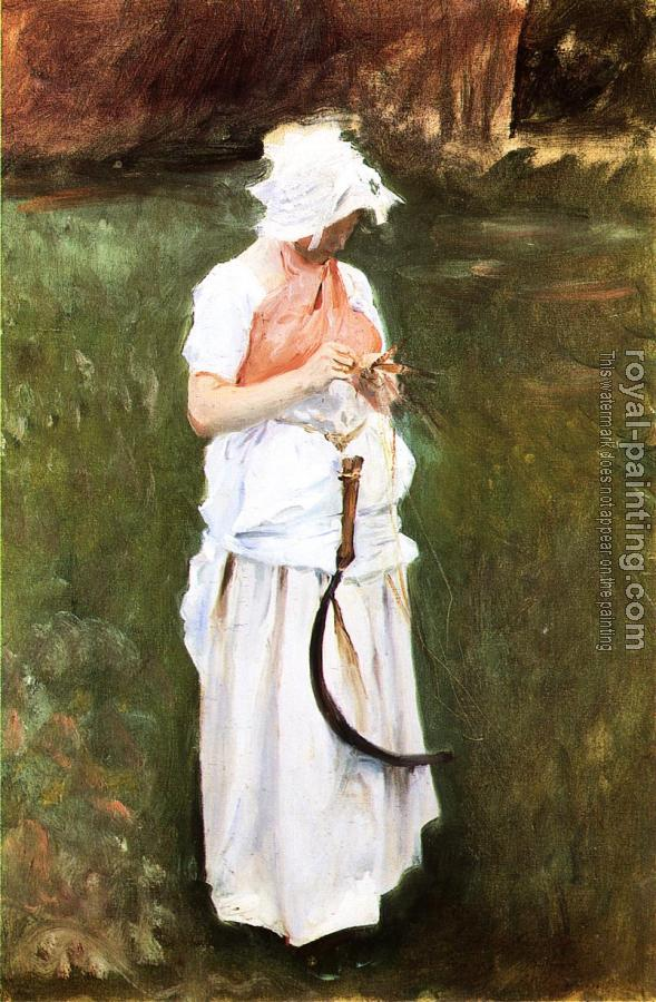 John Singer Sargent : Girl with a Sickle